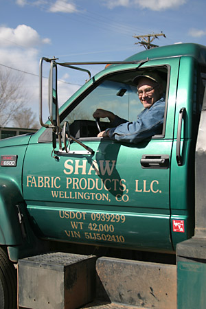 Roy Shaw of Shaw Fabric Products